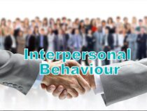 Interpersonal behaviour